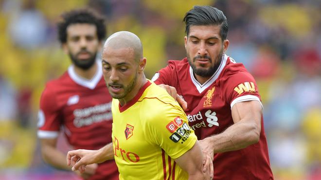 Encore un match dingue en Premier League entre Liverpool et Watford (vidéo)