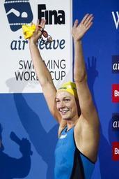 Coupe du monde de natation - Encore un record du monde pour la Suédoise Sarah Sjostrom, sur 200m libre en petit bassin