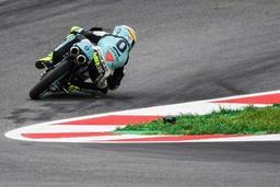 GP d'Autriche: l'Espagnol Mir vainqueur sans concurrence en Moto3