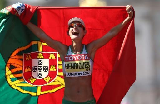 Yohann Diniz champion du monde du 50 km marche