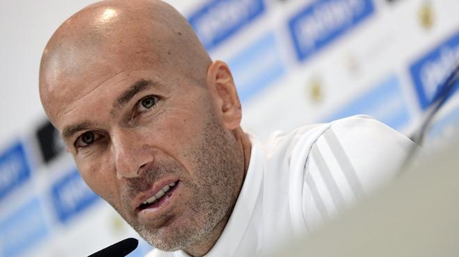 Zidane s'exprime sur la sanction infligée à Cristiano Ronaldo