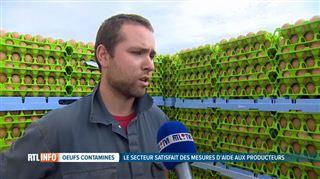 Steve craint pour la survie de son élevage- près de 600.000 œufs en attente et des frais de 1.000€ par jour 4
