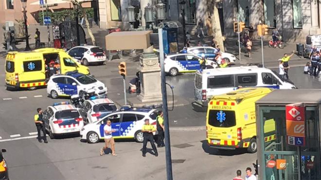 Nouvel attentat à Cambrils, 7 blessés, 5 terroristes abattus — Catalogne