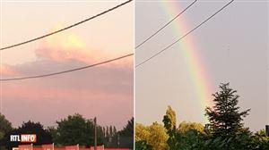 De splendides arcs-en-ciel ou des nuages après un orage violent, la météo nous offre de jolis spectacles: vos photos