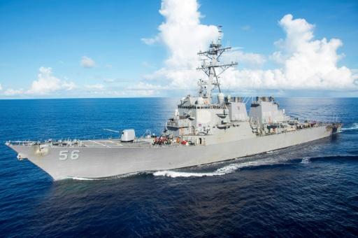 10 marins d'un destroyer américain portés disparus — Singapour/Collision