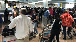 La grève surprise des bagagistes de Swissport à Brussels Airport se poursuit- pas d'accord entre les syndicats et la direction 2