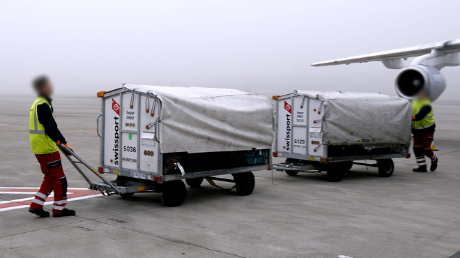 S, 15.000 valises stockées à Brussels Airport — Swissport