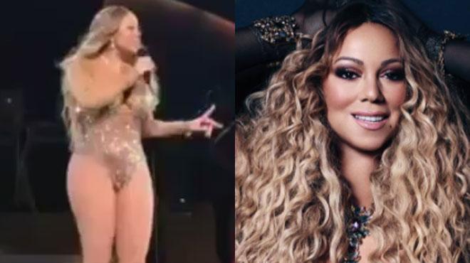 Mariah Carey pose seins nus pour