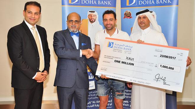 En plus, Xavi se fait 265'000 francs à la loterie!