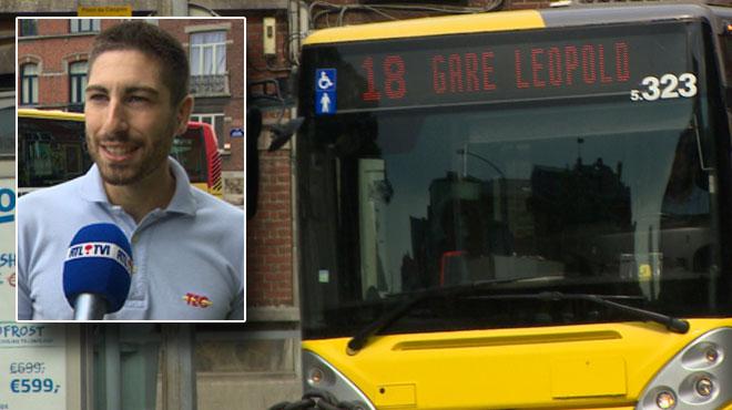 Un bébé nait dans un bus à Liège: le TEC lui offre la gratuité jusqu'à ses 18 ans