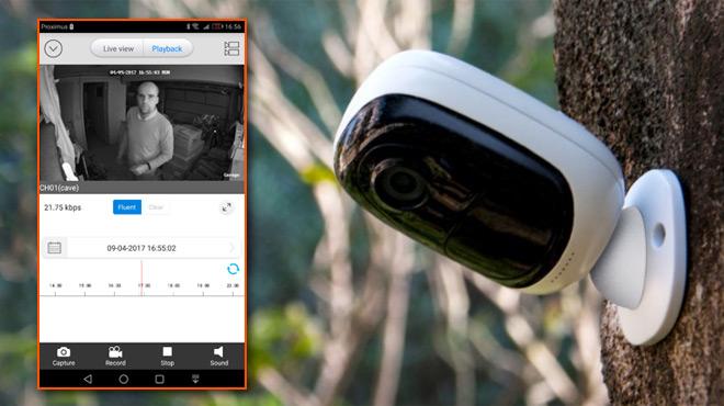 Cette petite caméra de surveillance entièrement SANS FIL d'une marque inconnue est LA bonne surprise de la rentrée