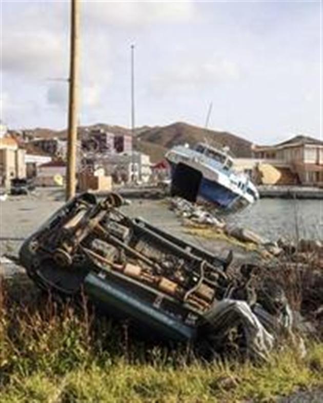 Évasion massive de prisonniers dans les Iles Vierges britanniques — Ouragan Irma