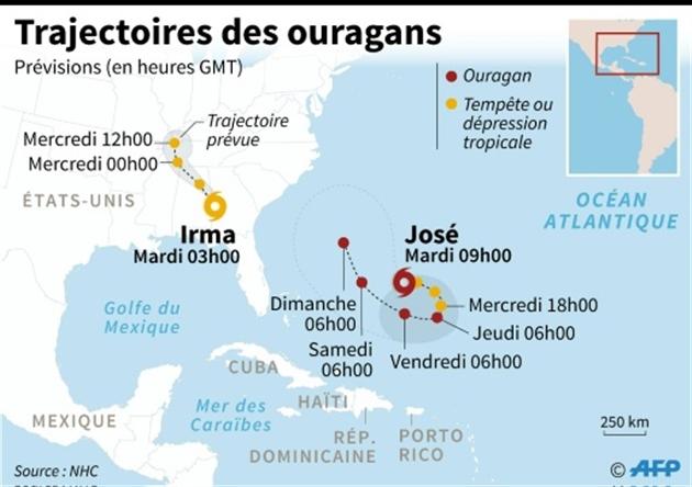 L'archipel des Keys en Floride fortement touché par l'ouragan Irma
