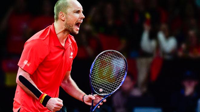 EXPLOIT la Belgique va en finale de la Coupe Davis et affrontera la France de Noah