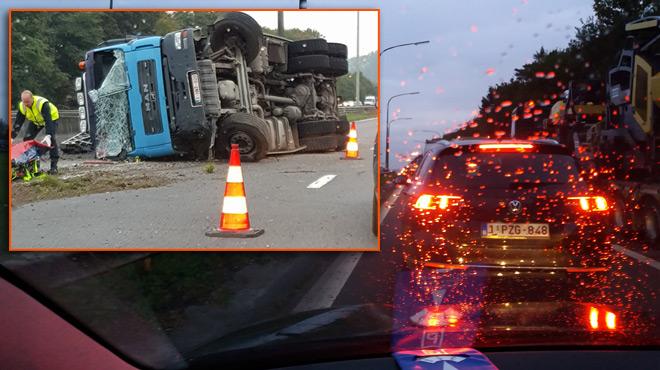 Situation chaotique sur l'E19 en direction de Bruxelles: évitez le secteur